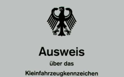Kleinfahrzeugkennzeichen