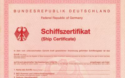 Schiffszertifikat