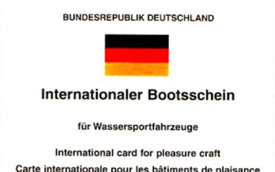 Internationaler Bootsschein